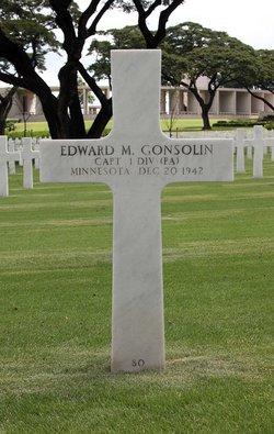 Capt Edward M Gonsolin, Jr
