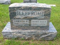 Mary Ella <I>Jarman</I> Leefrom