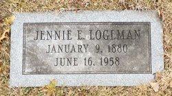 Jennie E. <I>Irley</I> Logeman