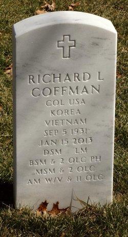 Col Richard Lyle Coffman
