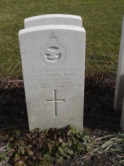 Flight Sergeant ( Flt. Engr. ) Vernon Charles Lewis