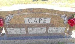 Reba Elaine Cape