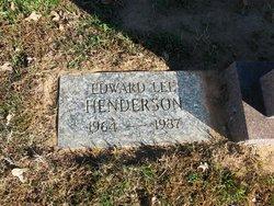 Edward Lee Henderson