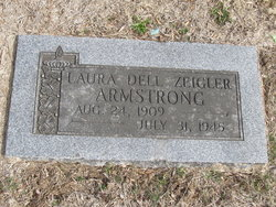Laura Dell <I>Zeigler</I> Armstrong