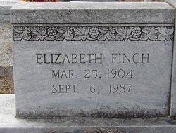 "Martha Elizabeth ""Coot"" <I>Finch</I> Barnes"