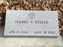 Isabel Victoria <I>Jacoby</I> Steele