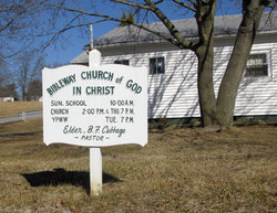Bible Way Church of God In Christ Cemetery