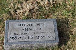 Anne R <I>Heyman</I> Kuff