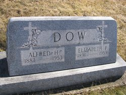 Alfred H Dow