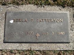 "Berla Day ""Beula"" <I>French</I> Patterson"
