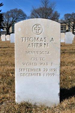 Thomas A Ahern
