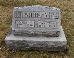 Carrie A <I>Mann</I> Whitney