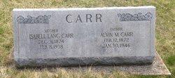 Isabell <I>Lang</I> Carr