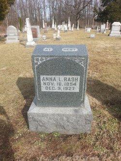 Anna L <I>Cole</I> Rash