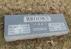 Mary Edna <I>Hearne</I> Brooks