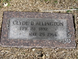 Clyde B Allington