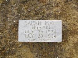 Sarah May Ingram