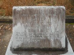 Mary Aurora <I>Evans</I> Ritter