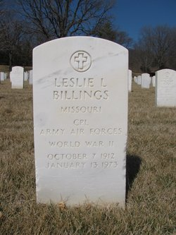 CPL Leslie L Billings