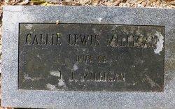 "Caledonia ""Callie"" <I>Lewis</I> Milligan"