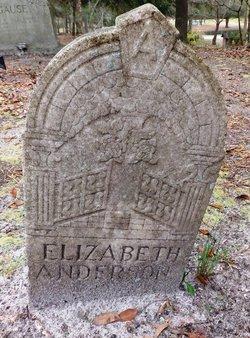 Elizabeth <I>Long</I> Anderson