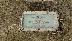 Bonita Bonnie K Adam