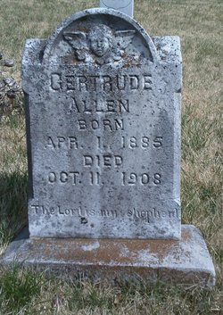 Gertrude <I>Roop</I> Allen
