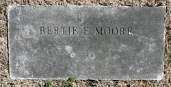 "Laberta Ellen ""Bertie"" <I>Shook</I> Moore"