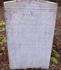 Benjamin W Gause Sr.