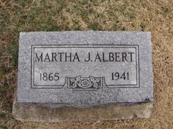 Martha Jane <I>Pitman</I> Albert