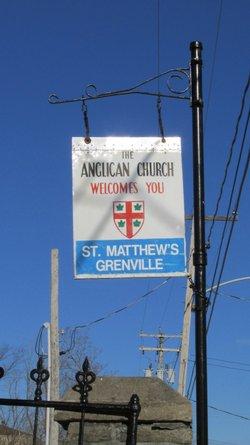 Saint Matthews Anglican Church Cemetery
