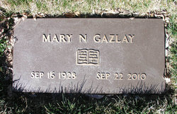 "Mary Nancy ""Nan"" <I>Hahs</I> Gazlay"