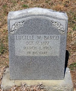 Lucille <I>Williams</I> Barco