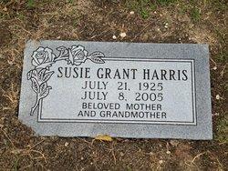 Susie <I>Grant</I> Harris