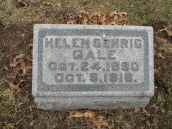 Helen <I>Gehrig</I> Gale
