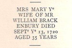 Mary Brackenbury