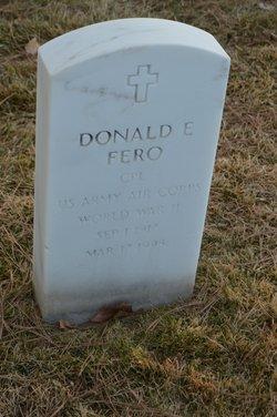 Donald E Fero