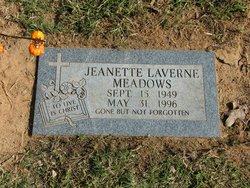 Jeanette Laverne Meadows