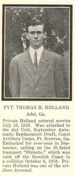 Pvt Thomas H Holland