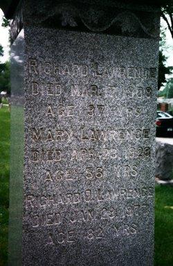Mary Hannah <I>O'Keeffe</I> Lawrence