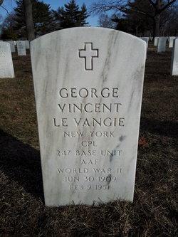 George Vincent Le Vangie