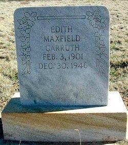 Edith <I>Maxfield</I> Carruth