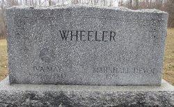 Marshall Devol Wheeler