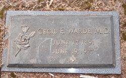 Dr Cecil Everett Warde