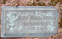 Lucy <I>Finley</I> Warde