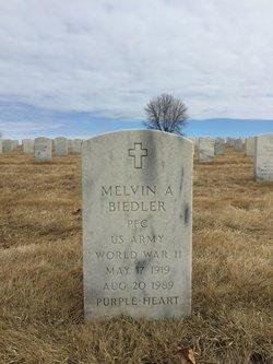 Melvin A. Biedler