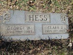 Clara <I>Wilson</I> Hess