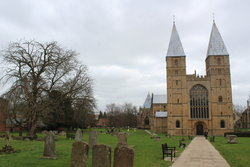 Southwell Minster Churchyard