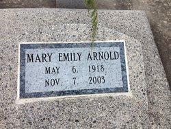 Mary Emily <I>Forster</I> Arnold