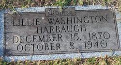 Lillie <I>Washington</I> Harbaugh